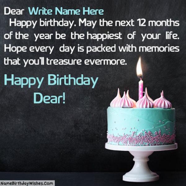Happy Birthday Quotes With Name