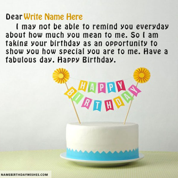 Birthday Wishes For Friend With Name And Photo