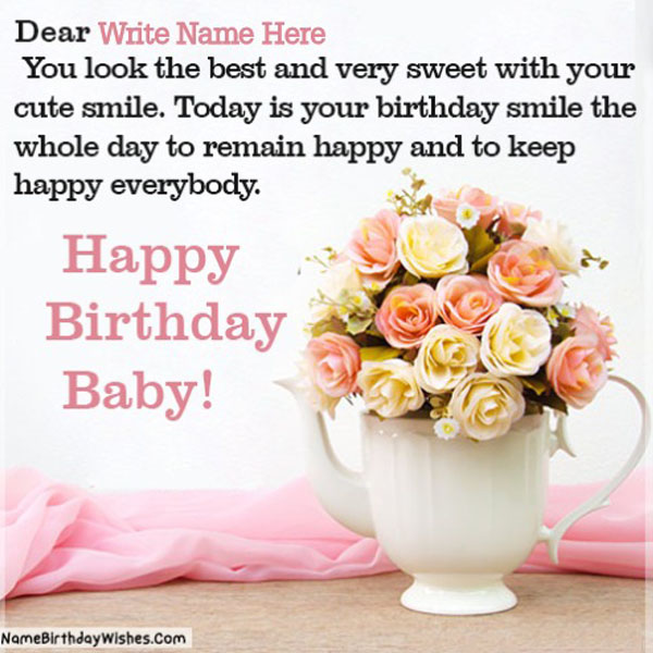 Birthday Wishes For Girlfriend With Name And Photo