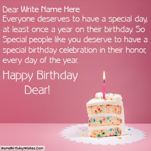 Happy Birthday Images For A Friend With Name And Photo