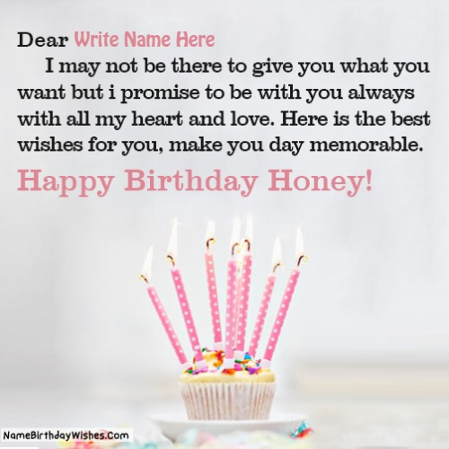 Happy Birthday Quotes For Girlfriend With Name And Photo